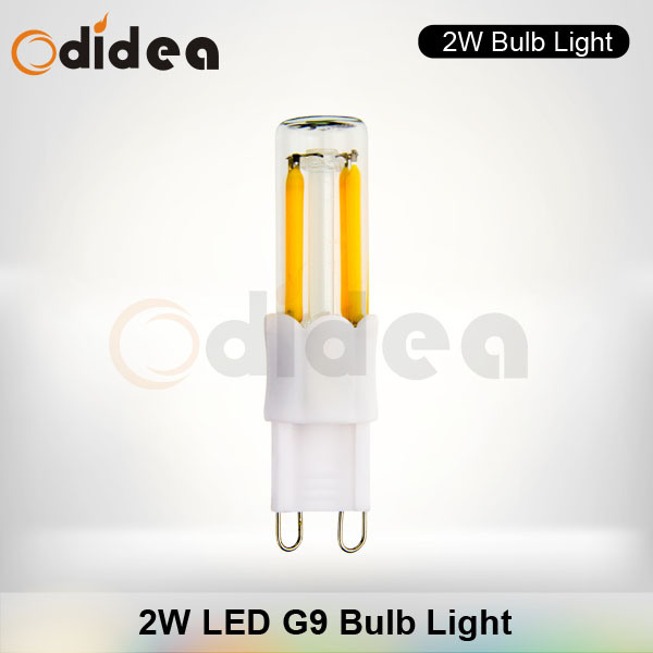 Dimmable Filament Lights with 2W G9 LED Bulbs (CZLS02023)