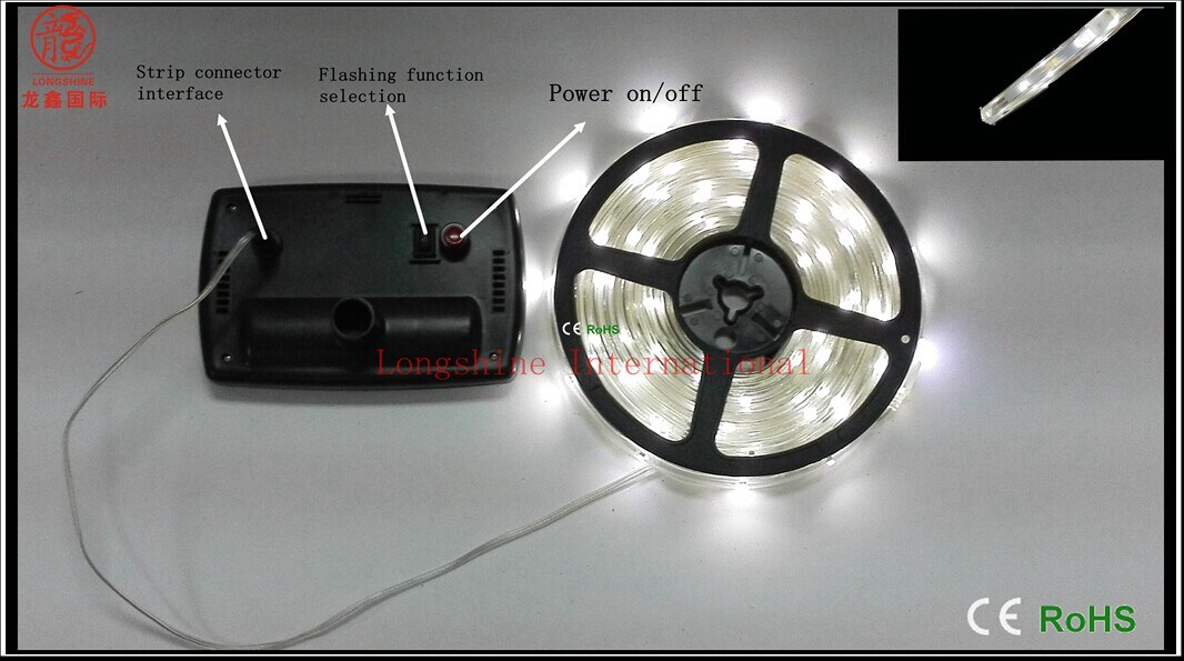 Solar Outdoor LED Strip Light