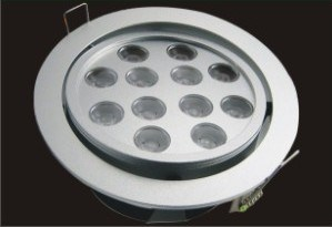 High Power LED Ceiling Decorative Light (12*1.2W)