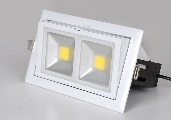 LED Downlighter with White Housing