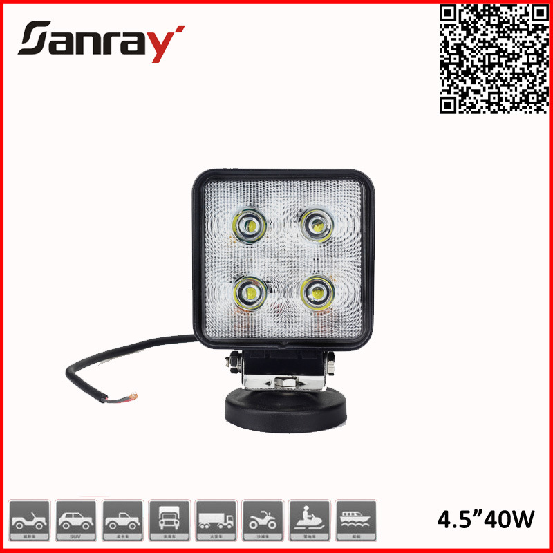 Factory Price 40W CREE Offroad LED Work Light