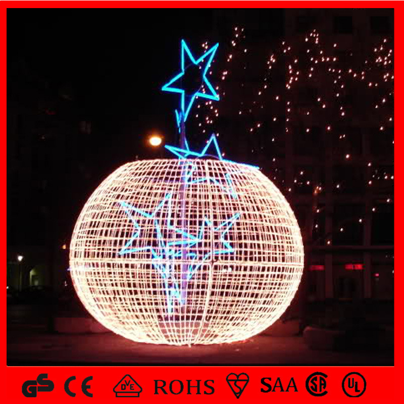 2016 Holiday LED Christmas Illuminating Outdoor Ball Light