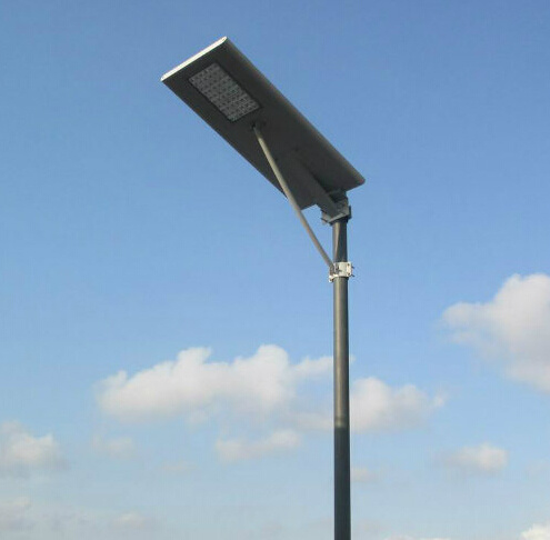 Enery Saveing All in One Solar Street Light with Solar Panel Charge