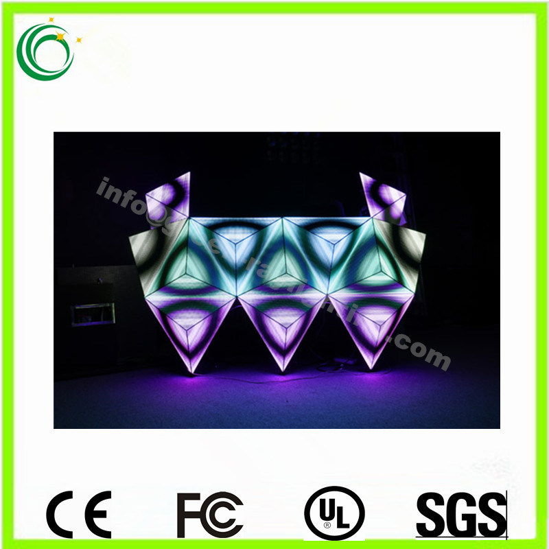 Stage Controller 3D DJ Console Indoor LED Display