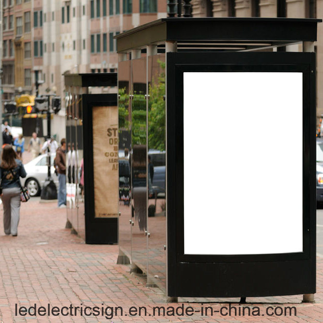 Frameless LED Display with Advertising Outdoor LED Light Box