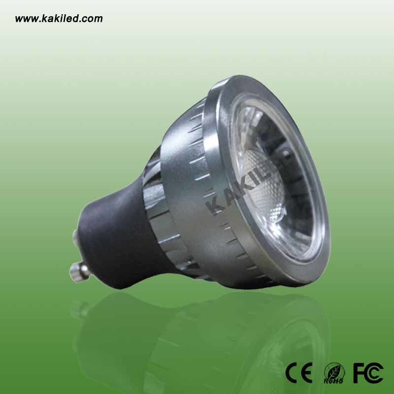 GU10 7W COB LED Spotlight for Mall (CE RoHS)