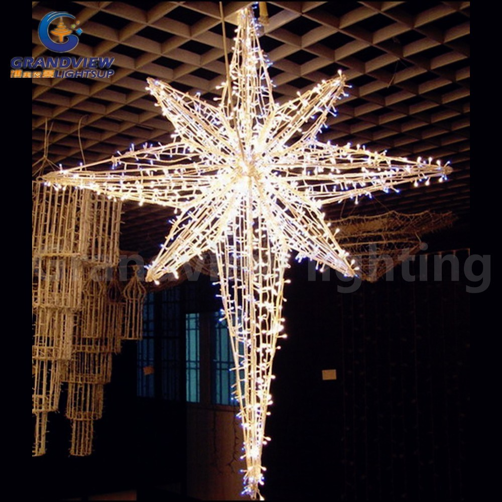 Outdoor Decoration Christmas Ornament LED String Star Light for Holiday Decoration with CE RoHS