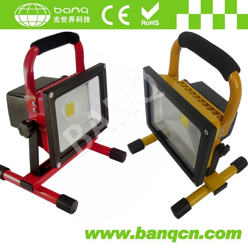 Portable & Rechargeable/Battery 10W/20W/30W LED Floodlight/LED Work Light IP65 Waterproof/Outdoor LED Work Light