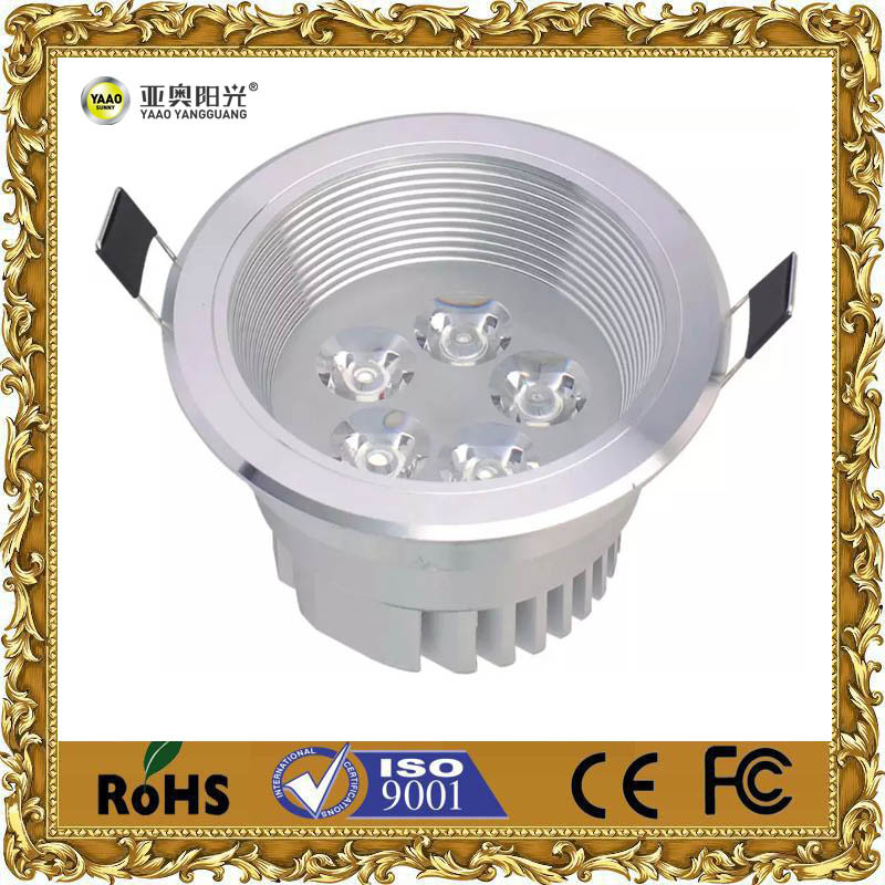 5W Aluminum LED Ceiling Light