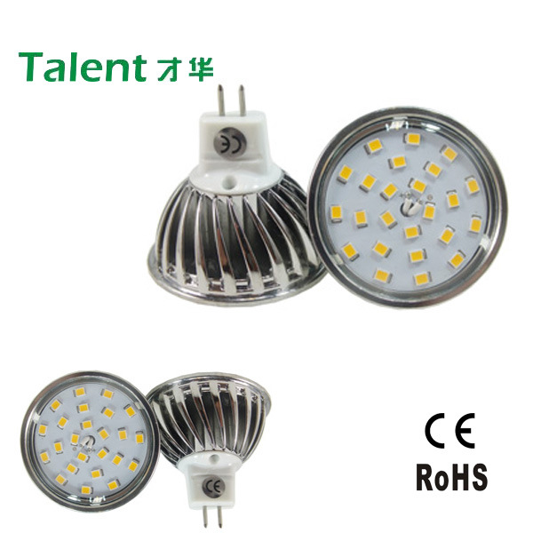 4W MR16 24 LED LED Spot Light Aluminium Lamp Cup