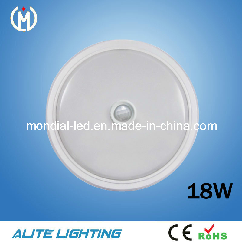 CE Approved 18W LED Ceiling Sensor Light
