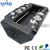 LED Disco 8PCS*10W Mocing Head Beam Spider Light