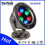 IP68 6W RGB LED Fountain/Ponds/Underwater Light