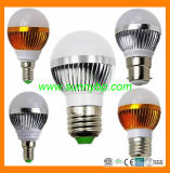 2015 Hot High Quality E27 3W LED Light Bulb