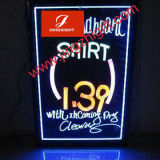 Lighting LED Neon Display Board for Promotion