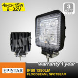 15W 9-32V DC Offroad LED Work Light