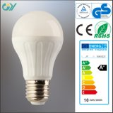 Aluminum Plastic A55 9W E27 3000k LED Light Bulb
