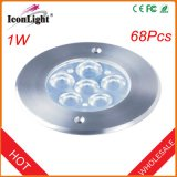 Hot Sale IP68 6PCS*1W LED Underwater Street Light (ICON-C011)
