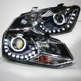 Cross Polo LED Angel Eyes Head Lamp for Vwld
