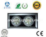 Lt 18W Double LED Grille /Down Light