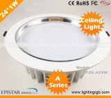High Power 24W LED Ceiling Light/ LED Ceiling Lamp/ LED Down Light