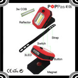 2015 Newest Poppas B70 360 Degree Rotation COB and 3 LED Magnetic Work Light