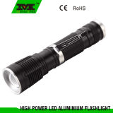 LED Rechargeable Flashlight with Pen Clips