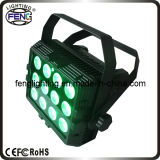 12PCS 6 in 1 Disco Light LEDs with Remote Control