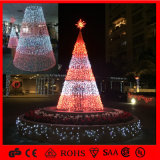 Colorful Outdoor 3D LED Christmas Tree Commercial Ball Decoration Light