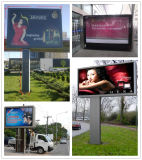 SGS OEM Outdoor Advertising Light Box with LED Lightening Timer and Scrolling System