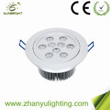 25W Aluminum LED Down Ceiling Light