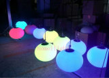 Rechargeable Battery RGB Full Color Outdoor LED Ball Light for Party, Christmas