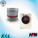 Red LED Low Intensity Solar Powered LED Obstruction Lights