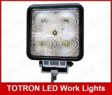 900lm 15W 9-32V Square LED Flood Work Light, T1015