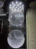 High Quality Hotel Decoration LED Crystal Chandelier (GD-9046-18)
