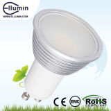 Dimmable 4W SMD GU10 LED Aluminium Lamp