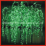 Green Willow LED Tree Light for Street Garden Park Decoration with CE RoHS
