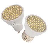 3W 300lm GU10/E27 Plastic LED Spotlight Lamp Cup