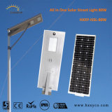 CE RoHS IP65 6W-100W All in One Solar Light System Motion Sensor Light Sensor LED Street Lamp Solar Garden Light Integrated Solar Street Light