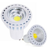 Dimmable 5W COB GU10 Warm White LED Spotlight