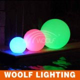 Woolf LED Lit Furniture Waterproof Plastic Outdoor Glow LED Ball Light