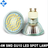 4W SMD3528 Glass Cup Whit Cover LED Spot Lamp