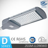 90W LED Street Light with CE/RoHS Certifications