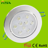 9W LED Ceiling Down Lights with CE RoHS SAA Approval High Lumen Output