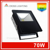 China Manufacturer IP67 70W RGB LED Flood Light