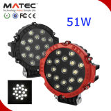 Competitive Factory Price Offroad SUV ATV Truck Jeep 4X4 LED Work Light 51W