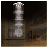 Clear Lone Stair Luxury Crystal Chandelier