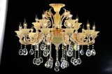 Classical Big Chandelier in Zhongshan Factory Crystal Lamp