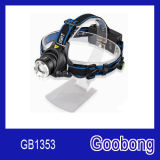 Super Bright CREE T6 LED Rechargeable Zoom Headlamp