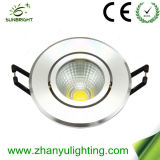 Aluminum 5 Watt SMD LED Ceiling Light Modern